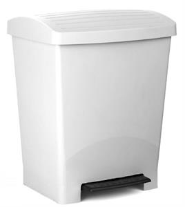 Cubo de Baño Optimist 25L Blanco